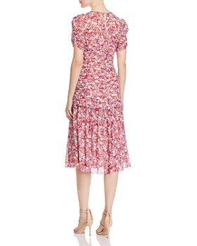 Shoshanna - Vonne Floral Midi Dress