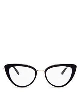 Tom Ford - Women's Cat Eye Blue Light Glasses, 53mm