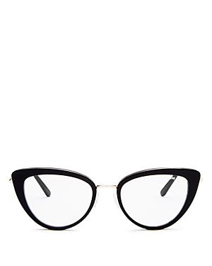 Tom Ford Women's Cat Eye Blue Light Glasses, 53mm