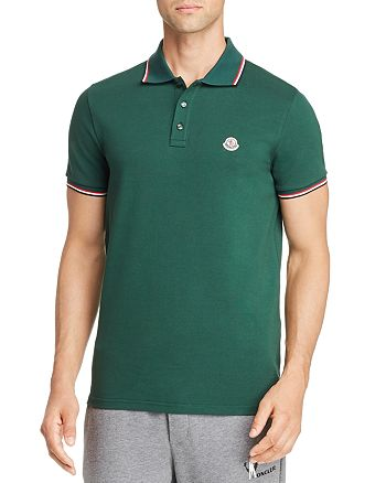 Moncler - Maglia Basic Flag Regular Fit Polo Shirt