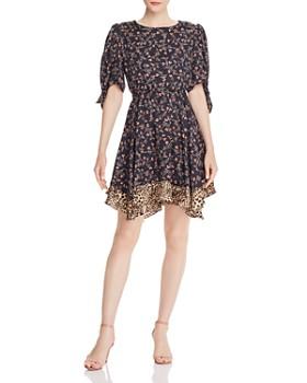 Rebecca Taylor - Lia Floral Leopard Dress