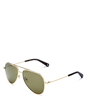 Stella McCartney - Kids' Brow Bar Aviator Sunglasses, 51mm