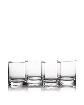 Caspari - Clear Acrylic On The Rocks, Set of 4
