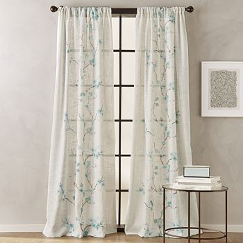"Peri Home - Michiko Rod Pocket Curtain Panel, 50"" x 95"""