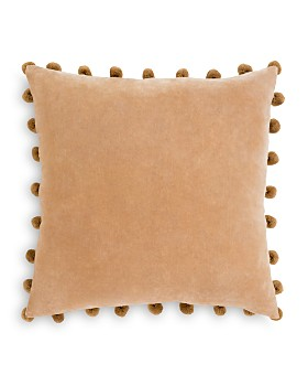 "Surya - Serengeti Velvet Throw Pillow, 20"" x 20"""