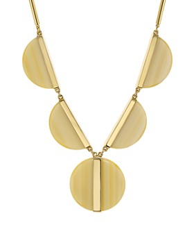 """kate spade new york - On the Dot Statement Necklace, 16"""""""