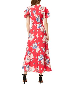 FRENCH CONNECTION - Cari Floral Maxi Wrap Dress