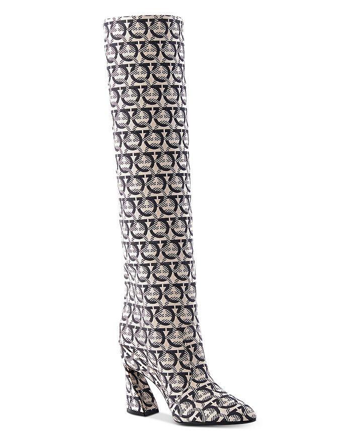 Salvatore Ferragamo - Women's Antea Gancini Knee Boots