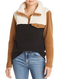 Donni - Tri Fleece Pullover Sweater