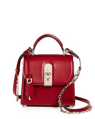 Small Boxyz Satchel by Salvatore Ferragamo