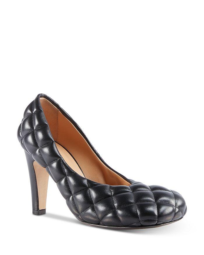 Bottega Veneta - Women's Quilted Leather Pumps