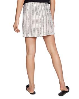 1.STATE - Rustic Ruffled Mini Skirt