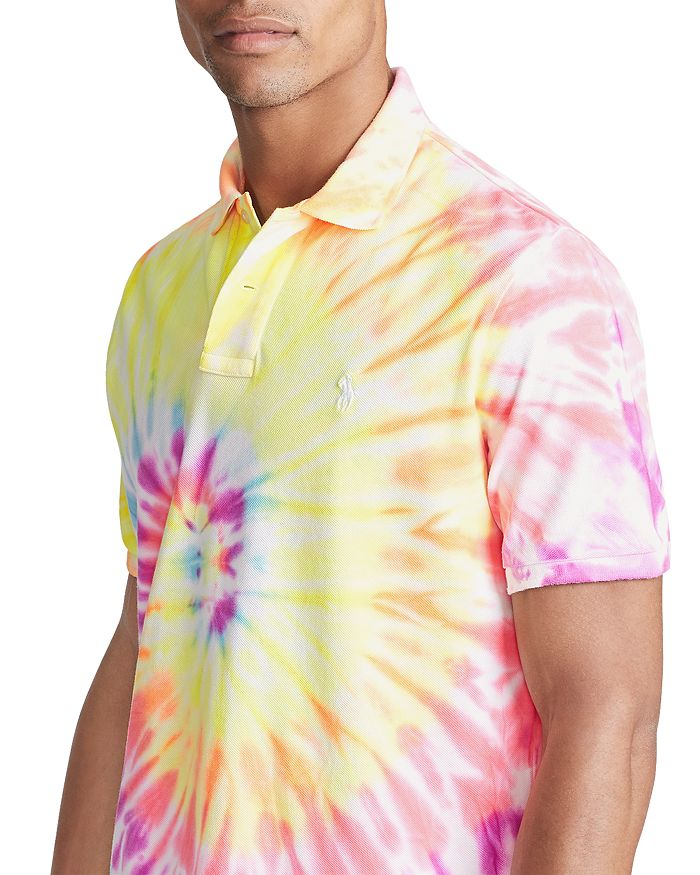 Polo Ralph Lauren - Tie-Dye Mesh Classic Fit Polo Shirt