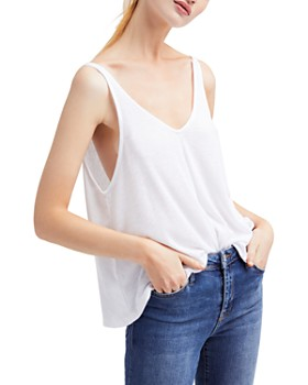 c0e01b163 Free People Women's Tops: Graphic Tees, T-Shirts & More - Bloomingdale's
