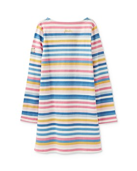 Joules - Girls' Striped Shift Dress - Little Kid, Big Kid