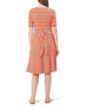 HOBBS LONDON - Bayview Tie-Waist Striped Dress