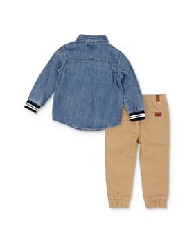 7 For All Mankind - Boys' Denim Shirt & Pants Set - Baby