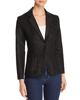 Majestic Filatures - Metallic Knit Blazer