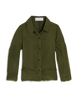 Bella Dahl - Girls' Frayed Button-Down Shirt - Little Kid, Big Kid