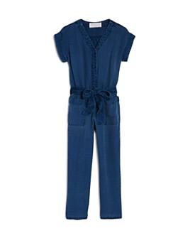Bella Dahl - Girls' Pocket Jumpsuit - Little Kid, Big Kid