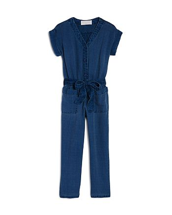 Bella Dahl - Girls' Pocket Jumpsuit - Little Kid, Big Kid