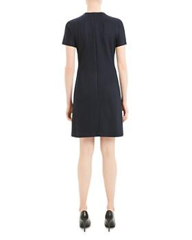Theory - Striped Dolman Shift Dress