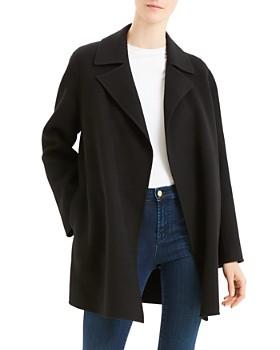 5badd10d5 Theory - Theory Wool & Cashmere Open Jacket ...