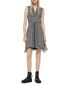 ALLSAINTS - Jayda Scatter Convertible Dress