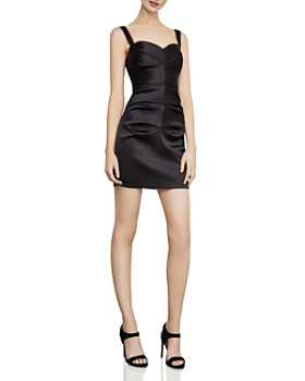BCBGMAXAZRIA - Satin Mini Sheath Dress