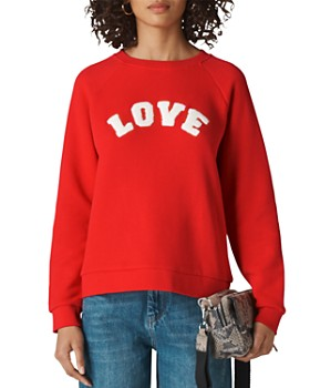Whistles - Textured Love Sweatshirt
