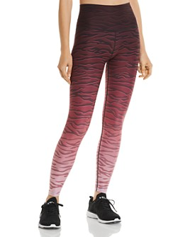 Wear It To Heart - Ombré Zebra Print Leggings