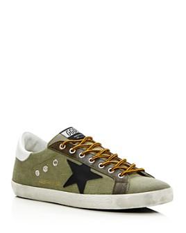 Golden Goose Deluxe Brand - Unisex Superstar Canvas Sneakers - 100% Exclusive