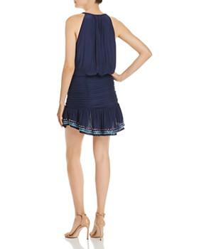 Ramy Brook - Arya Embroidered Drop-Waist Dress