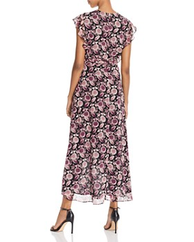 Rebecca Minkoff - Flossie Floral Maxi Wrap Dress