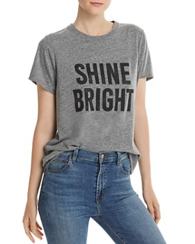 Cinq à Sept - Heathered Shine Bright Graphic Tee