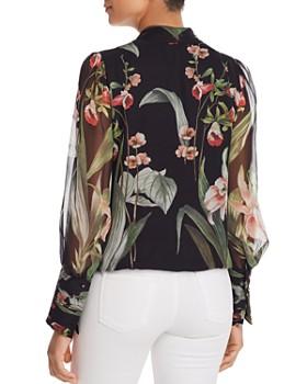 Elie Tahari - Laya Floral-Print Silk Blouse