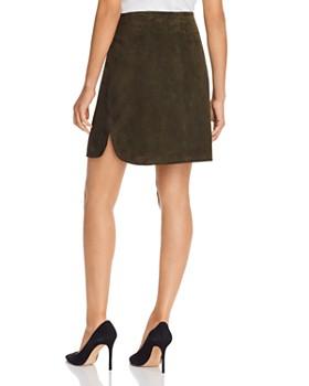 Elie Tahari - Ginger Suede Skirt