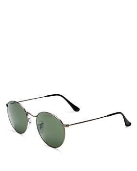 Ray-Ban - Unisex Icons Round Sunglasses, 50mm