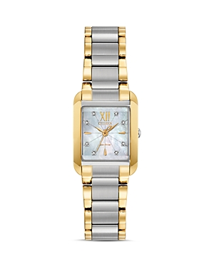 Bianca Mother-of-Pearl Dial & Diamond Index Watch