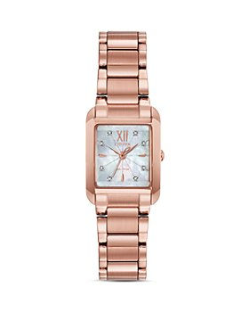 Citizen - Bianca Mother-of-Pearl Dial & Diamond Index Watch, 22mm x 28mm