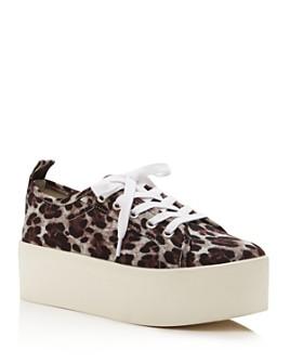 AQUA - Women's Piper Platform Sneakers - 100% Exclusive