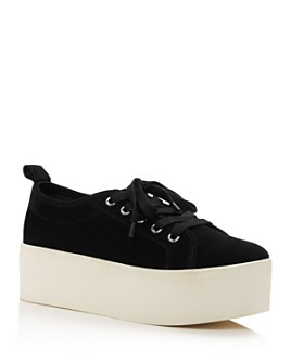AQUA - Women's Piper Platform Sneakers - 100% Exclusive