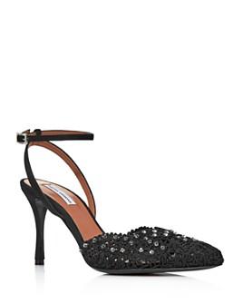 Tabitha Simmons - Women's Sen Floret Lace Slingback Pumps - 100% Exclusive