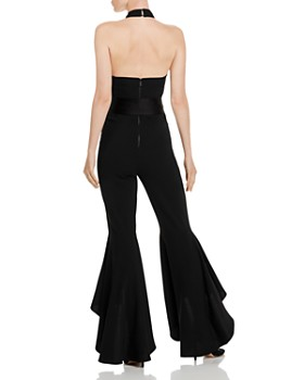 Alice and Olivia - Carmel Halter High/Low Jumpsuit