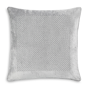 Hudson Park Collection Artistry Embroidered Velvet Decorative Pillow, 20 x 20 - 100% Exclusive