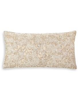 "Hudson Park Collection - Mica Textured Decorative Pillow, 12"" x 22"" - 100% Exclusive"