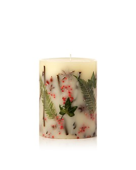 "Rosy Rings - Red Currant & Cranberry - 5.5"" Tall Mini Round Candle"