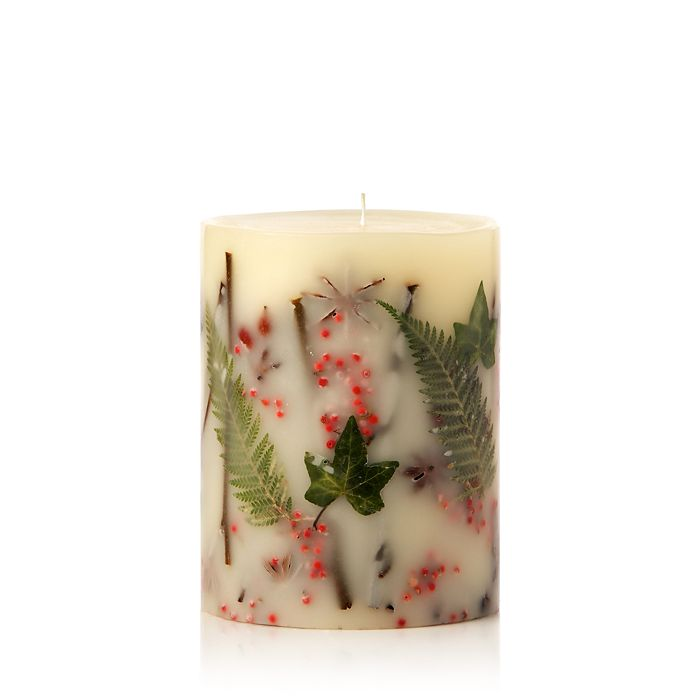 """Rosy Rings - Red Currant & Cranberry - 5.5"""" Tall Mini Round Candle"""
