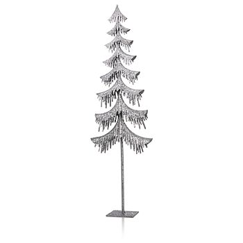 Bloomingdale's - Silver Glitter Tree - 100% Exclusive