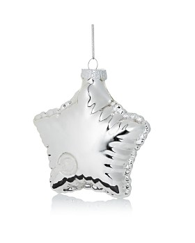 Bloomingdale's - Glass Star Balloon Ornament - 100% Exclusive